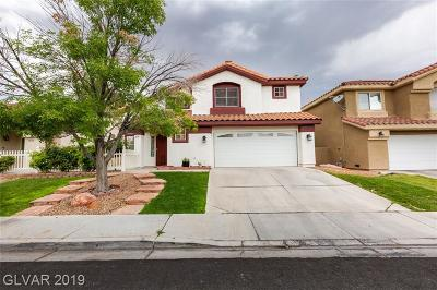 Henderson Single Family Home For Sale: 2176 Eaglecloud Drive
