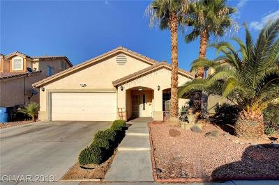 North Las Vegas Single Family Home For Sale: 3628 Sable Palm Street