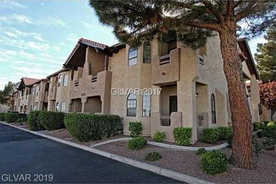 Las Vegas Condo/Townhouse For Sale: 4049 Luzon Way Way #101