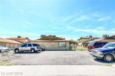 Las Vegas Multi Family Home Under Contract - No Show: 1504 Henry Drive