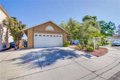 Las Vegas Single Family Home Under Contract - No Show: 7037 English Mist Circle