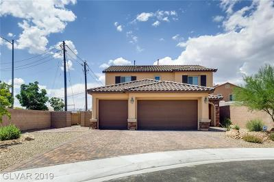 North Las Vegas Single Family Home For Sale: 3605 Asia Road