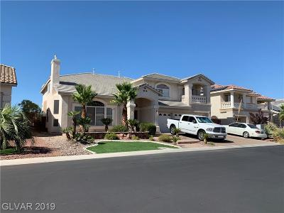 Henderson, Las Vegas Single Family Home For Sale: 6342 Mighty Flotilla Avenue