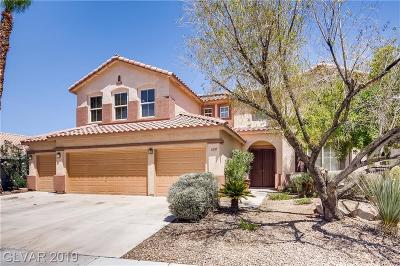 North Las Vegas Single Family Home For Sale: 6210 Benchmark Way