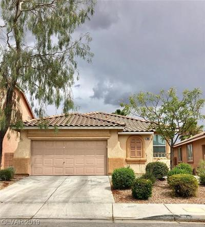 Las Vegas Single Family Home Under Contract - No Show: 2660 Pine Run Road