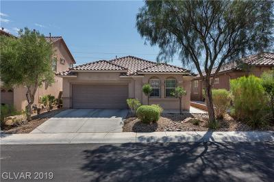 Las Vegas Single Family Home Under Contract - No Show: 11164 Hickory Glen Street