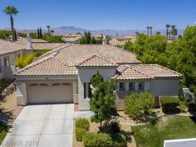Henderson Single Family Home For Sale: 1109 Via Appianna