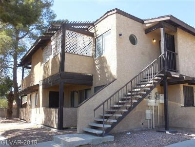 Las Vegas Condo/Townhouse For Sale: 3708 Scuba Circle #C