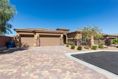 Las Vegas Single Family Home For Sale: 11283 Dolly Varden Court