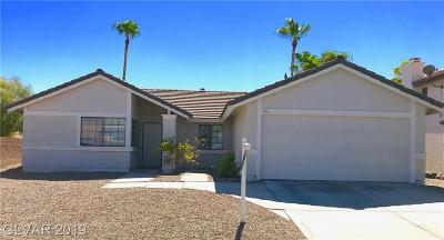 Henderson Single Family Home For Sale: 390 Mancini Court