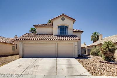 North Las Vegas Single Family Home For Sale: 4017 Mill Point Circle