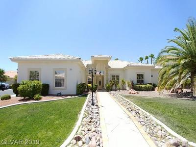Henderson, Las Vegas Single Family Home For Sale: 7481 Crystal Cave Drive