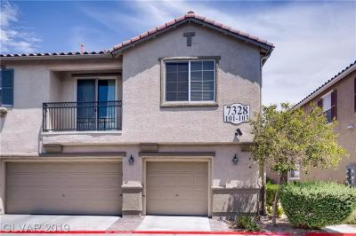Centennial Hills Condo/Townhouse Under Contract - No Show: 7328 Marble Lake Street #101