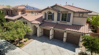 Las Vegas Single Family Home For Sale: 9806 Almenia Street