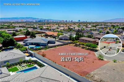 Las Vegas Residential Lots & Land For Sale: 0 Old Coach Circle