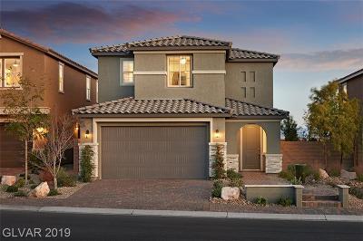 Clark County Single Family Home For Sale: 6324 Ava Ridge Avenue