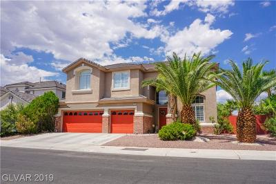 Las Vegas Single Family Home For Sale: 6712 Rose Petal Avenue