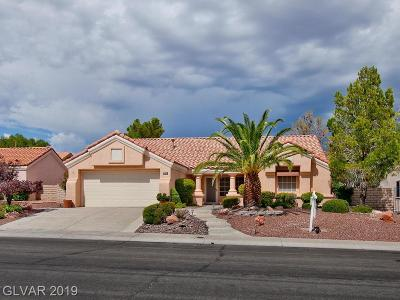 Sun City Summerlin Single Family Home Under Contract - No Show: 3005 Lotus Hill Drive