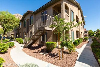 Centennial Hills Condo/Townhouse For Sale: 3360 Cactus Shadow Street #102