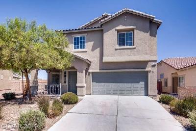 North Las Vegas Single Family Home For Sale: 6064 Draft Horse Drive