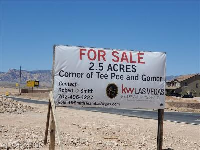 Las Vegas Residential Lots & Land For Sale: Gomer