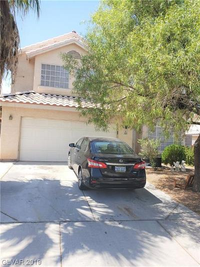 North Las Vegas Single Family Home For Sale: 3817 Rose Canyon Drive