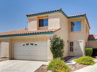 Centennial Hills Condo/Townhouse For Sale: 5389 Painted Mirage Road