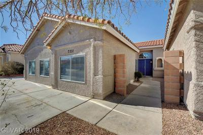 Las Vegas Single Family Home For Sale: 7711 Foredawn Drive
