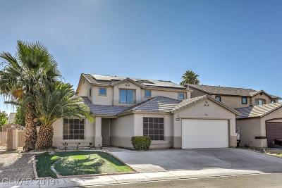 North Las Vegas Single Family Home For Sale: 4536 Rockpine Drive