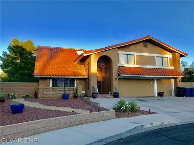 Las Vegas Single Family Home For Sale: 2737 Bayo Court