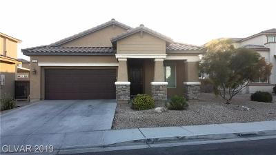 NORTH LAS VEGAS Single Family Home For Sale: 4841 Sevier Desert Street