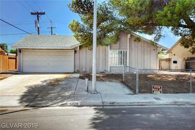 Spring Valley Single Family Home For Sale: 5429 Edna Avenue