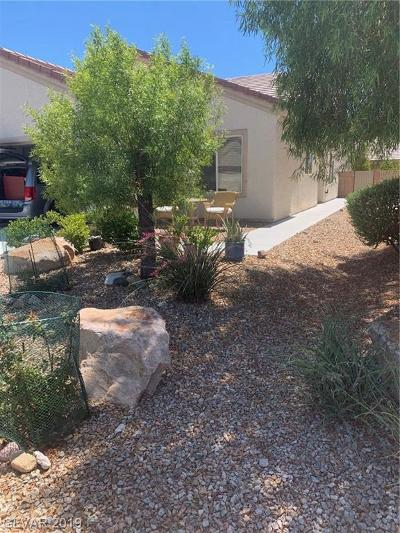 North Las Vegas Single Family Home Under Contract - No Show: 3521 Herring Gull Lane