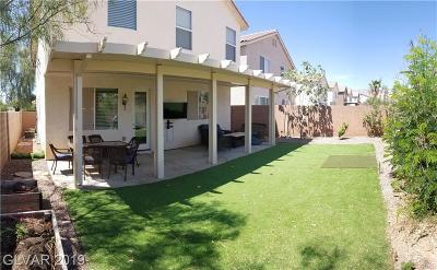 Las Vegas Single Family Home For Sale: 9652 Lightheart Avenue