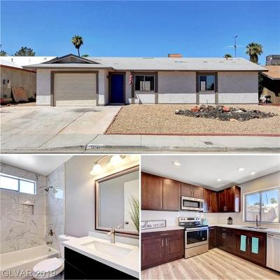 Las Vegas Single Family Home For Sale: 5151 Gains Mill Street