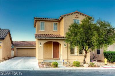 Las Vegas Single Family Home For Sale: 9854 Delta Lake Court
