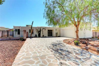 Boulder City Single Family Home For Sale: 1551 Sandra Drive