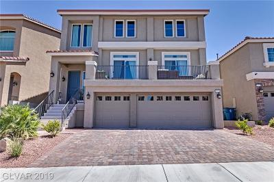 Las Vegas Single Family Home For Sale: 10574 Aphrodite Street