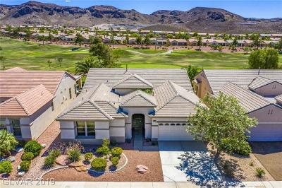 Henderson Single Family Home For Sale: 549 Mountain Links Drive