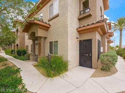 Las Vegas Condo/Townhouse For Sale: 7701 Robindale Road #274