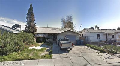 Las Vegas Single Family Home For Sale: 2126 Stewart Avenue