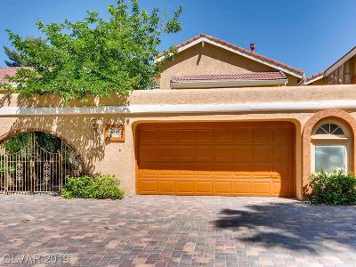 Las Vegas Cntry Club Villas #1 Single Family Home Under Contract - No Show: 2972 Bel Air Drive