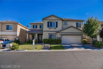 Centennial Hills Single Family Home For Sale: 7917 Brent Leaf Avenue