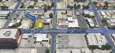 Las Vegas Residential Lots & Land For Sale: 625 Las Vegas Boulevard