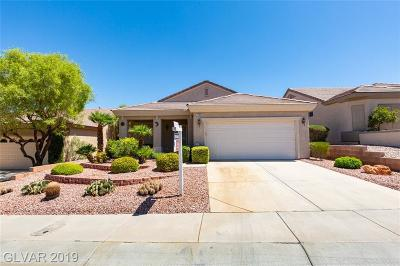 Henderson Single Family Home For Sale: 2080 King Mesa Drive