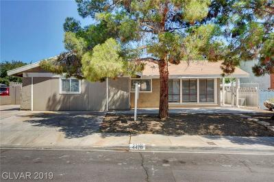Paradise Single Family Home For Sale: 4470 McMillan Road
