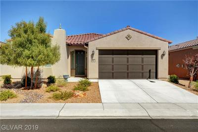 North Las Vegas Single Family Home For Sale: 5626 Pleasant Palms Street
