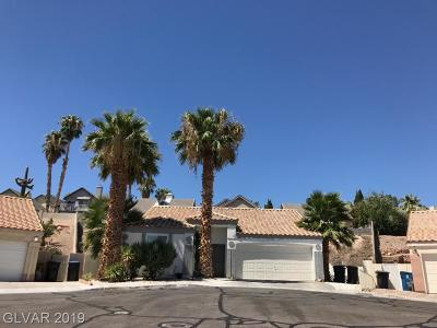 Henderson Single Family Home Under Contract - No Show: 1696 Clear Look Court