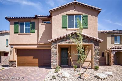 North Las Vegas Single Family Home For Sale: 4124 Topaz Hills Drive