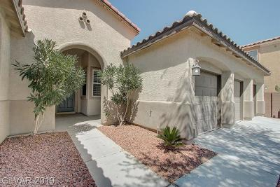 North Las Vegas Single Family Home Under Contract - Show: 6433 Gilded Flicker Street